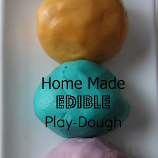 Edible Play Dough Without Peanut Butter Recipes