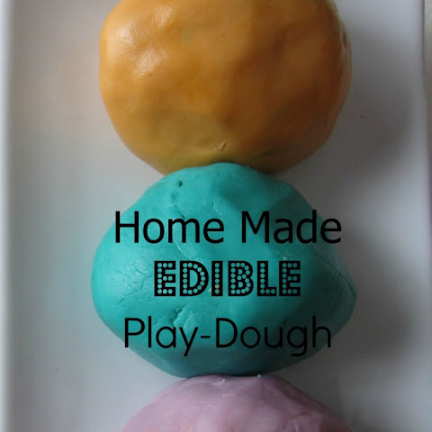 Edible Play Dough - Easy, FUN & Yummy!