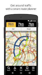 Yandex.Navigator for Lollipop - Android 5.0