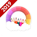 Spin Coloring 2019: Coloring Pages via Wheel Spin icon