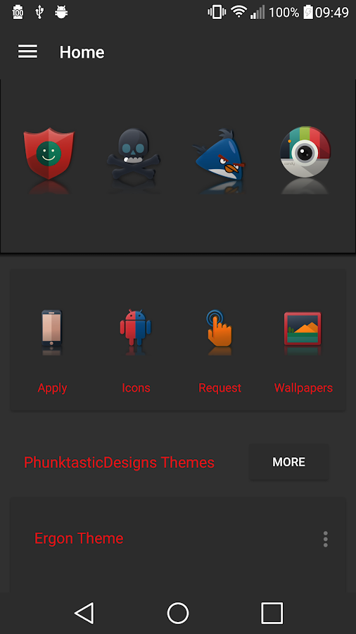 Reflector - Icon Pack Screenshot 3