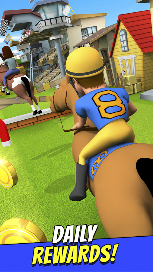 Cartoon Horse Riding Game Free Screenshot 9