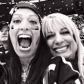 Diana & Janet @ L.A. KINGS Game by Diana Bosna - Sports & Fitness Ice hockey