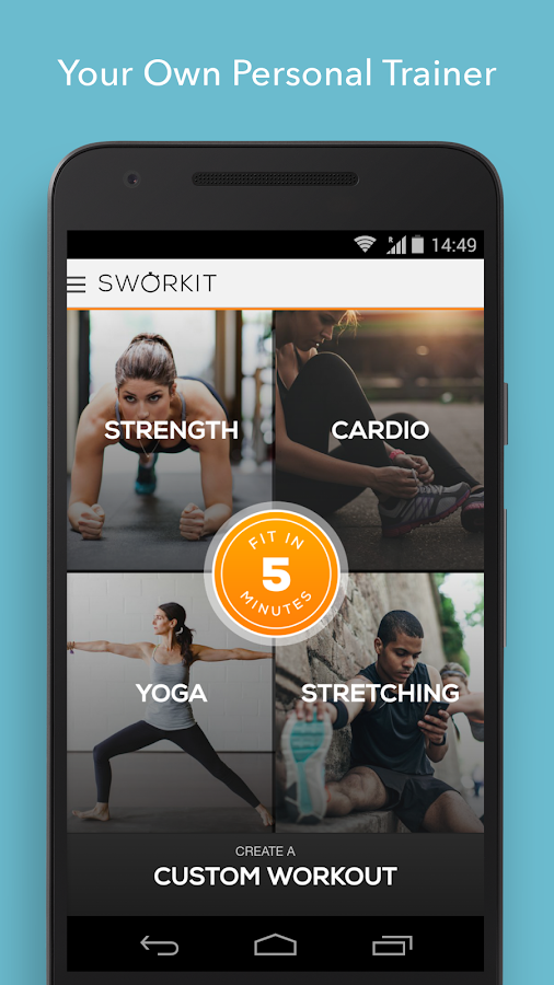 Sworkit Personalized Workouts Screenshot 0