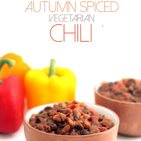Autumn Spiced Vegetarian Chili