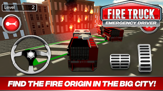 Fire Truck Driver Emergency 2018 for pc