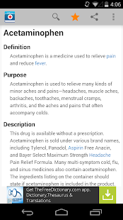 Medical Dictionary by Farlex screenshot for Android