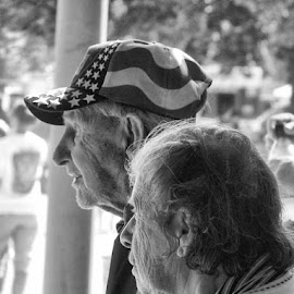 Nebraska State Fair Couple by Bonnie Burgeson - People Couples
