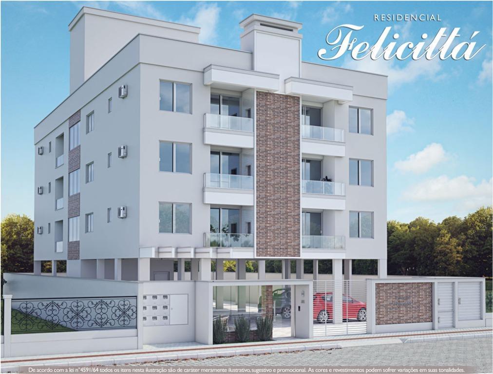 Apartamento residencial à venda, Universitário, Tijucas.