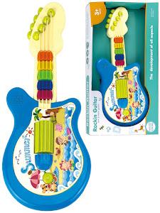 """Набор серии """"Для творчества"""", гитара детская музыкальная, бирюзовая"""