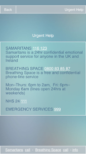 Prevent Suicide - NE Scotland - screenshot