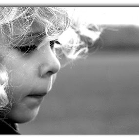 Lets go home now. by Alan Wilson - Babies & Children Children Candids ( , black and white, b&w, child, portrait )