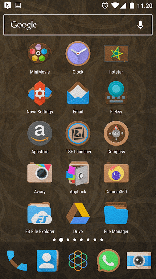 LeatherEx Icon Pack Screenshot 3