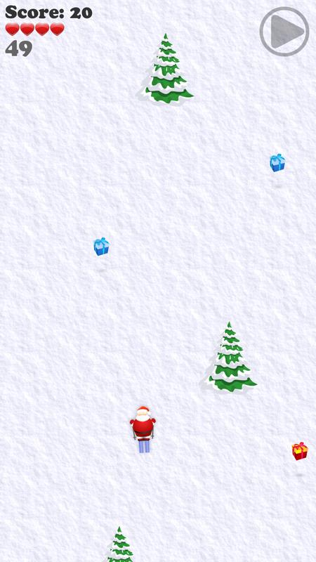 Santa-Skiing 21