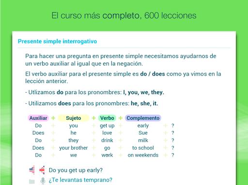 Aprender inglés con Wlingua screenshot 12