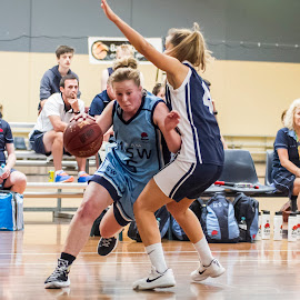 NSW vs VIC by Sotiris Sotiriou - Sports & Fitness Basketball