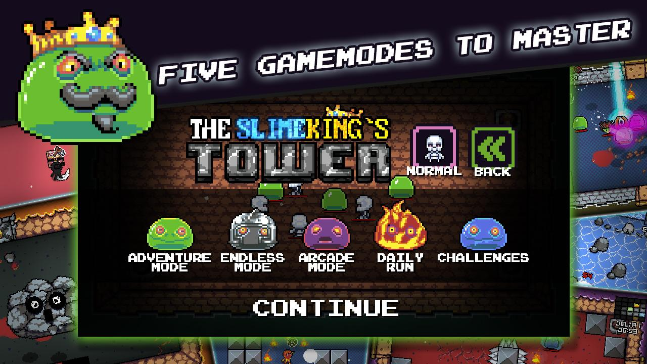 The Slimeking's Tower (No ads) Screenshot 13