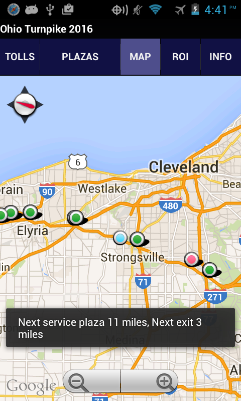 Ohio Turnpike 2017 Android Apps On Google Play