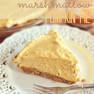 Marshmallow Pumpkin Pie Recipes