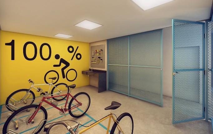 Perspectiva Bicicletário
