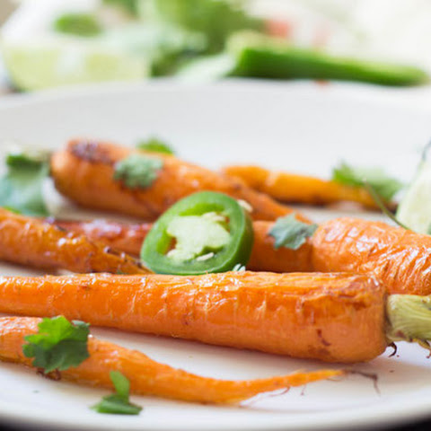 Jalapeno-Lime Honey Glazed Carrots