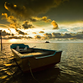 Boat by Md Arif - Landscapes Waterscapes