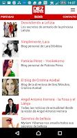 Screenshot of DIEZ MINUTOS Noticias Corazon