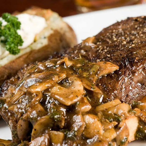 Tenderloin Steaks With Mushroom Sauce