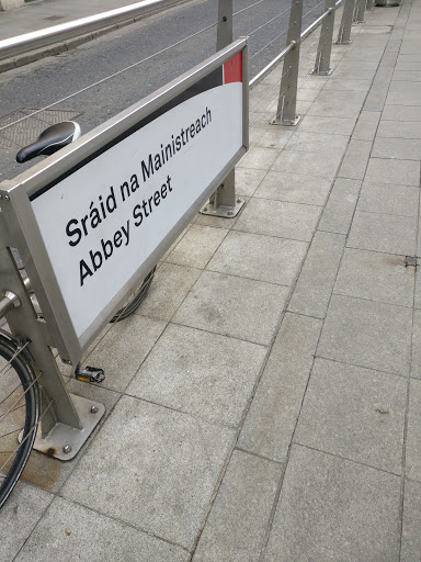Abbey St. Luas Stop