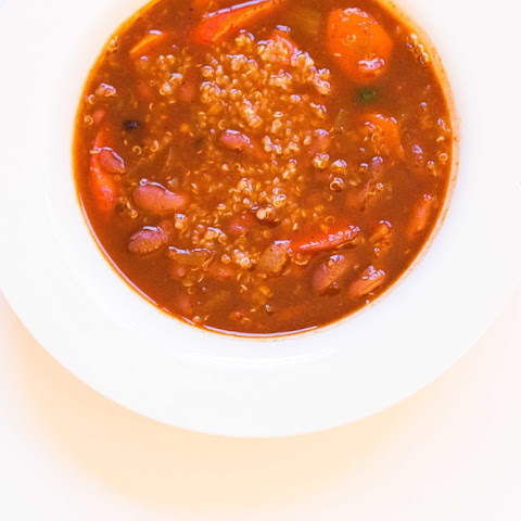 Vegan Quinoa And Red Bean Chili