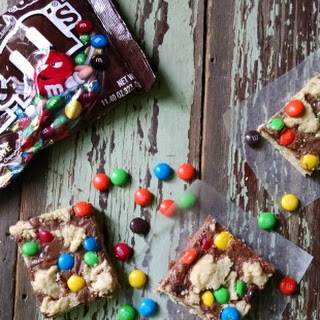 M&M Shortbread Cookies
