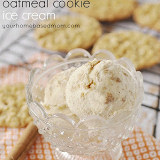 Cinnamon and Oatmeal Cookie Ice Cream