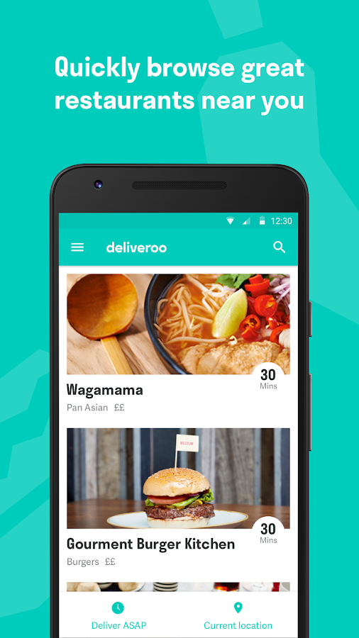 Deliveroo: Restaurant Delivery Screenshot 0
