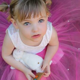 by Kathryn Potempski - Babies & Children Child Portraits ( child, portraiture, children portrait, innocent, fairy, pink, childhood, portrait )