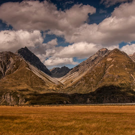 Southern Alps by Stanley P. - Landscapes Mountains & Hills