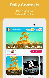 Game CASH QUIZ - Gift Cards Rewards & Sweepstakes Money apk for kindle fire