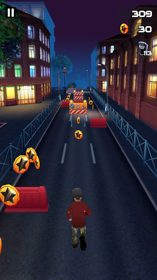 Black Star Runner Screenshot 3