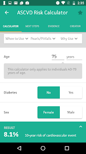 MDCalc Medical Calculator screenshot for Android