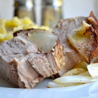 Apple Cinnamon Slow Cooker Porkloin