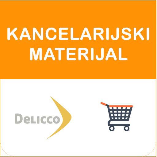 Android aplikacija KancelarijskiMaterijal Delicco