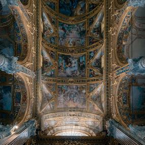 PARROCCHIA DEI SANTI VITTORE E CARLO by Goran Dzh - Buildings & Architecture Other Interior ( nikon, italia, mood, church, genoa, cathed, tamron, italy, interior )