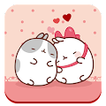 Cute Kitty Love Theme APK for Bluestacks