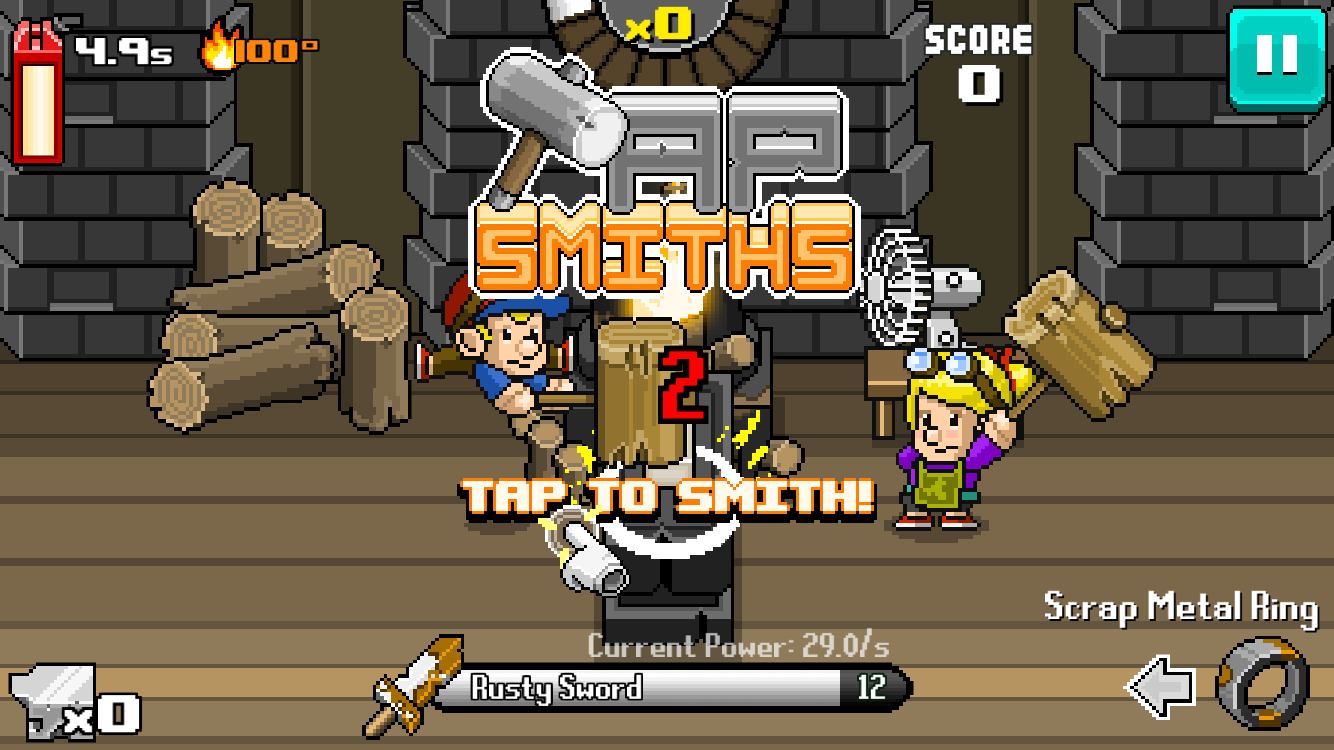Tap Smiths Screenshot 0