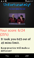 Screenshot of Life in the UK Test