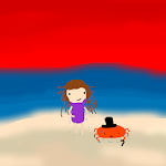 Just a girl and her crab..