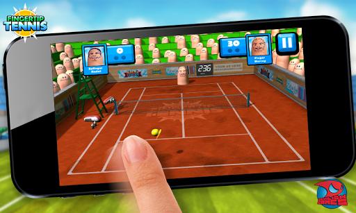 Fingertip Tennis - screenshot