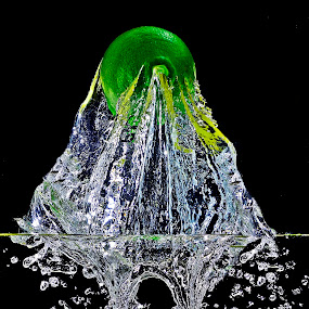 uprising.. by Pete G. Flores - Artistic Objects Other Objects ( water splash drop lemon foods abstract creative, otep )