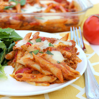 Penne all'Arrabbiata with Sausage and Eggplant