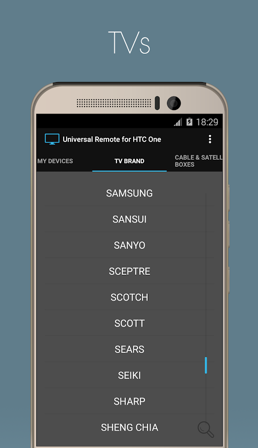 Universal Remote for HTC One Screenshot 2