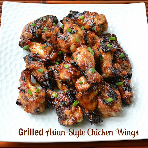 Grilled Asian Chicken Wings